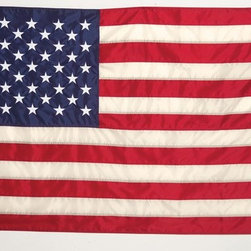 Old Glory Flag 3x5 Nylon - Historical American Flag U.S. Flag Store has proudly reconstructed Old Glory, the model for the current flag of the United States of America, with modern, 200 denier nylon. Made specifically for outdoor use this is a long lasting historical reproduction.