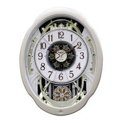 Rhythm - Marvelous Magic Motion clock - Contemporary has never looked this Marvelous