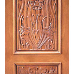 "Single Door, Colonial Hand Carved 2-Panel in Mahogany - SKU#    Carved-3_1Brand    AAWDoor Type    ExteriorManufacturer Collection    Carved & MansionDoor Model    Door Material    WoodWoodgrain    MahoganyVeneer    Price    1380Door Size Options    30"" x Height"" (2'-6"" x 6'-8"")  $032"" x Height"" (2'-8"" x 6'-8"")  $036"" x Height"" (3'-0"" x 6'-8"")  +$1042"" x Height"" (3'-6"" x 6'-8"")  +$17036"" x Height"" (3'-0"" x 7'-0"")  +$11030"" x Height"" (2'-6"" x 8'-0"")  +$38032"" x Height"" (2'-8"" x 8'-0"")  +$38036"" x Height"" (3'-0"" x 8'-0"")  +$39042"" x Height"" (3'-6"" x 8'-0"")  +$390Core Type    SolidDoor Style    ColonialDoor Lite Style    Door Panel Style    2 Panel , Hand Carved Panel , Raised MouldingHome Style Matching    Mediterranean , Victorian , Old World , Elizabethan , Pueblo , SuburbanDoor Construction    True Stile and RailPrehanging Options    Prehung , SlabPrehung Configuration    Single DoorDoor Thickness (Inches)    1.75Glass Thickness (Inches)    Glass Type    Glass Caming    Glass Features    Glass Style    Glass Texture    Glass Obscurity    Door Features    Door Approvals    Door Finishes    Door Accessories    Weight (lbs)    340Crating Size    25"" (w)x 108"" (l)x 52"" (h)Lead Time    Slab Doors: 7 daysPrehung:14 daysPrefinished, PreHung:21 daysWarranty    1 Year Limited Manufacturer WarrantyHere you can download warranty PDF document."