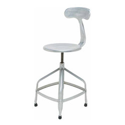 Aviator Adjustable Stool, Set of 2