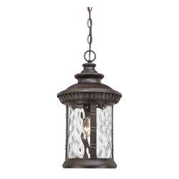 Quoizel Lighting - Quoizel CHI1911IB Chimera Imperial Bronze Outdoor Hanging Lantern - 1, 100W A19 Medium