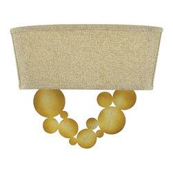 Fredrick Ramond - Fredrick Ramond FR31242SPG Barolo Spanish Gold Wall Sconce - Fredrick Ramond FR31242SPG Barolo Spanish Gold Wall Sconce