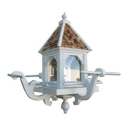 Home Bazaar, Inc. - Windamere Hanging Feeder - This elegant hanging feeder is sure please all types of wild birds