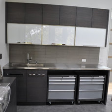 Contemporary Garage And Shed by Accent Custom Furniture Ltd.