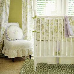 New Arrivals Inc. - Lavender Fields Forever Crib Bedding Set - Lavender Fields Forever Crib Bedding Set