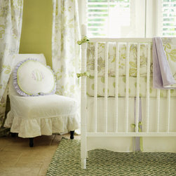 New Arrivals Inc. - Lavender Fields Forever Crib Bedding Set - Lavender Fields Forever Crib Bedding Set