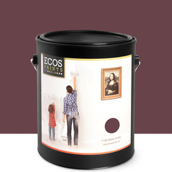 Imperial Paints - Eggshell Wall Paint, Gallon Can, Mulberry Lane - Overview: