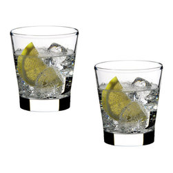 Riedel - Riedel Vinum Tumbler - Small Glasses - Set of 2 - The new Vinum tumbler glass by Riedel brings the casual simplicity of Riedel to water spirits and cocktails. The tumbler glass not only makes for pristine water drinking but are also perfect for your favorite cocktails. Like the rest of the Riedel Vinum line they're dishwasher safe and have the elegant design that Riedel is known for. Machine made in Germany of 24% lead crystal.