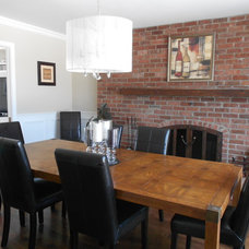 Traditional Dining Room Dining room after