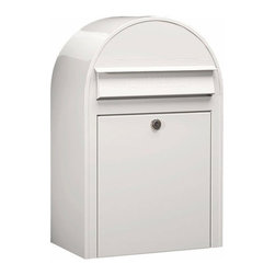Bobi Mailboxes - USPS Bobi Classic Mailbox, Front Access Lockable, White - **This listing is for just the mailbox without the mailbox post. There is a separate listing for the set.