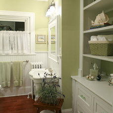Traditional Bathroom by Laura Potter Designs