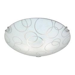 Vaxcel Lighting - Vaxcel Lighting CC57012 Loft 2 Light Flush Mount Ceiling Fixture - Features: