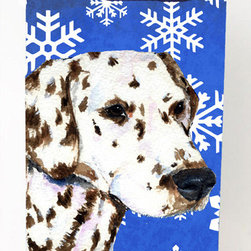 Caroline's Treasures - Dalmatian Winter Snowflakes Michelob Ultra Koozies for slim cans SS4607MUK - Dalmatian Winter Snowflakes Holiday Michelob Ultra Koozies for slim cans SS4607MUK Fits 12 oz. slim cans for Michelob Ultra, Starbucks Refreshers, Heineken Light, Bud Lite Lime 12 oz., Dry Soda, Coors, Resin, Vitaminwater Energy, and Perrier Cans. Great collapsible koozie. Great to keep track of your beverage and add a bit of flair to a gathering. These are in full color artwork and washable in the washing machine. Design will not come off.