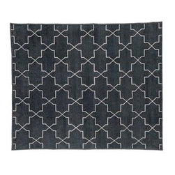 Brooke Rug from Madeline Weinrib Atelier - This rug is a great transitional pattern for someone who is afraid of being to trendy but still wants a fresh modern look. This piece will ground a mix of old and new in an eclectic design.