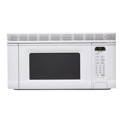 Sharp - 1.4 CF Over the Range Microwave, 950 Watts; White - 950-watt over the range microwave oven with 1.4 cu. ft. capacity|14.1 inch removable, revolving turntable|5-digit, 2 color, lighted LCD display with interactive word prompts|3 programmable stages|10 variable power levels|Auto-touch control panel with Cook & Reheat Center|Interactive Cooking System with custom help in English, Spanish or French|Defrost Center sets times and power levels for meats and poultry by weight|Minute Plus gives one minute of high cooking at a touch|Keep Warm Plus lets you keep hot foods hot up to 30 minutes after cooking is finished|  sharp| r1406t| r 1406t| over the counter microwave| microwave| over the counter| 950w| 950 watt| 1.4 cu. ft.| lcd display  Package Contents: white microwave|turntable|hardware|manual|warranty  This item cannot be shipped to APO/FPO addresses  Sharp will no longer take back any Sharp product as a DOA.� This includes, TV, A/V Products, and any Sharp Appliances.� Please call Sharp at 1-800-BESHARP for service details.� We will not be able to accept DOA returns on this item.� Please accept our apologies.