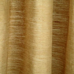 Serenade Drapery in Natural Sesame - Serenade Drapery in Natural Sesame is 65% Hemp and 35% silk with an organic feel. A moderate sheer drapery fabric from Belgium. 59″ wide. Cleaning code S.