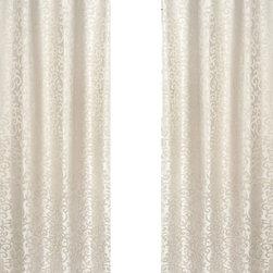 Sweet Jojo Designs - Victoria Jacquard Window Panel - Set of 2 by Sweet Jojo Designs - The Victoria Jacquard Window Panel - Set of 2 by Sweet Jojo Designs, along with the  bedding accessories.