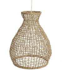 Tropical Pendant Lighting Woven Seagrass Pendant
