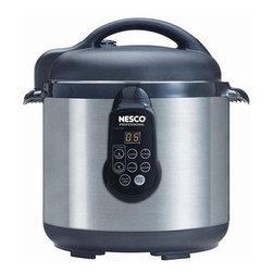 NESCO - Nesco PC6-25 6-Quart Digital Electric Pressure Cooker - 6qt capacity