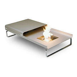 Fire and Ice Coffee Table Fireplace -