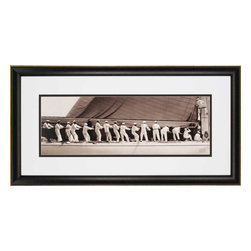 Paragon - Ranger Sailor Line - Framed Art - Each product is custom made upon order so there might be small variations from the picture displayed. No two pieces are exactly alike.