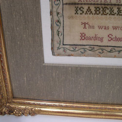 Needlework Framing - Have your needlework framed professionally to showcase the work you put into it.