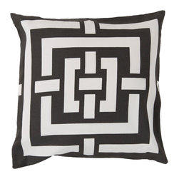 """Surya - Surya Pillow Kit Down Square Whisper White 20"""" x 20"""" Accent Pillow - This accent pillow brings texture to any space. Great addition to any couch or chair. Perfect for any room setting. Add this pillow to your collection today. Pillow Measurements are: 20"""" x 20"""", Pillow is made of: 100% Cotton, Color is: Ivory."""