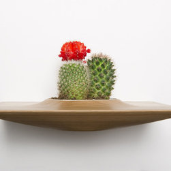 Domenic Fiorello Studio - White Oak Plant Pod - Slim, angular and unquestionably unique. Step out of the box with white oak planters that speak volumes about good design (and your great taste).\