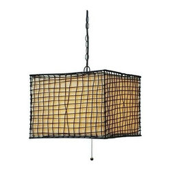 Kenroy Home - Kenroy Home 93399 Trellis 3 Light Large Pendant - Features: