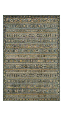 Momeni Rug - Momeni Rug Belmont 2' x 3' BE-04 Light Blue BELMOBE-04LBL2030 - The Belmont Collection brings ancient Persian rug design to any home. Gorgeous traditional patterns and subtle coloration bring depth and dimension to any living space while modern materials and techniques lends durability and strength to stand up to high use areas of the home. Add texture and complexity to your home with the Belmont Collection.