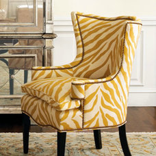 Contemporary Living Room Chairs by Horchow