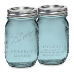 Ball® - Ball Vintage Collection Pint Jars (Set of 6) - These limited edition mason glass jars are as functional as they are stylishly charming. Perfect for canning and preserving all your homemade jams, syrups, sauces and so much more.