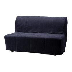IKEA of Sweden - LYCKSELE Sofabed slipcover - Sofabed slipcover, Henån black