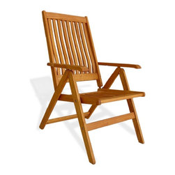Haste Garden - Riviera High Back Armchair - Robinia wood is resistant to decay. All of the wood used in our furniture is sourced from Europe and is 100% FSC certificated. - Made in Poland.