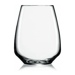 Luigi Bormioli - Luigi Bormioli White Wine Stemless 14oz - Set of 4 - Set of four stemless wine glasses that are modern, elegant, functional, and fun! Atelier glassware is machine blown in Parma Italy, made in Luigi Bormioli's proprietary SON.hyx material. SON.hyx produced glassware is an exciting fusion of elegance and technology. Glassware made in SON.hyx is extremely brilliant in color, has a beautiful sound, maintains its clarity after thousands of industrial dishwashing cycles, and possesses an extremely high level of durability and strength.