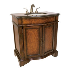 Ambella Home - New Ambella Home Sink Chest Black - Product Details