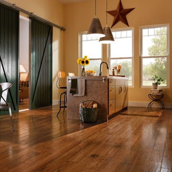 American Scrape Hardwood - Hickory - Cajun Spice - This stunning hardwood collection is inspired by the beauty of the American landscape.