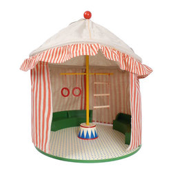 Maileg Circus Tent - I love toys that can also serve as decor, and this fun tent sized for a Maileg mouse is the best of both worlds.
