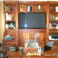 Storage Units And Cabinets by Cheryl McCracken Interiors,Inc