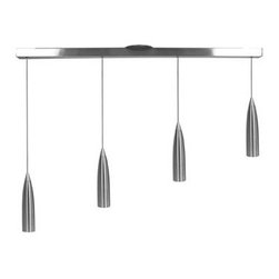 Access Lighting - Access Lighting 52004 Four Light Down Lighting Island / Billiard Fixture from th - Four light down lighting island / billiard fixtureRequires 4 35w GU-5.3 Base Halogen Bulbs (Not Included)Includes 8 feet of German Silicon Memory Free Cord