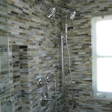 Modern Showers by Jim Godbout Plumbing and Heating