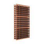 """Wine Racks America - 9-Column Standard Wine Cellar Kit, Redwood, Unstained - Surely Robert Louis Stevenson had this wooden cellar in mind when he wrote, """"Wine is bottled poetry."""" The easy-to-assemble kit, in your choice of colors and finishes, features softened edges to be gentle on bottles and ensure no nicks or splinters on your fingers."""