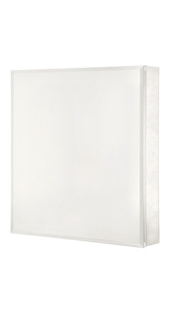 Pegasus - Beveled Mirror 26 in. Medicine Cabinet - SP45 - Manufacturer SKU: SP4581. Includes side mirror and hanging kit. Rust-free aluminum case with beveled mirror. Self-closing hinges open upto 110 degree. Recess and surface mount. 20 in. W x 5 in. D x 26 in. H (31 lbs.)