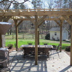 traditional patio by Fine Edge Landscape Design