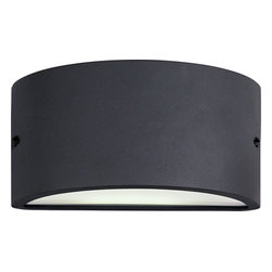 Maxim Lighting - Maxim Lighting Zenith ES Contemporary Outdoor Wall Sconce X-ZBATW79168 - These contemporary, European-designed fluorescent outdoor fixtures are a perfect combination of energy efficiency and durability. The Zenith EE collection features die-cast metal frames painted with a polyurethane powder coat, finished in Platinum or Architectural Bronze. The durable White acrylic lens diffuses the light nicely. The fluorescent light source gives the ultimate in energy saving and long life. Plus, many Zenith EE fixtures be used interior for corridors and hallways with ADA compliance.