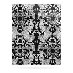 """Kess InHouse - DLKG Design """"Versailles Black"""" Metal Luxe Panel (24"""" x 36"""") - Our luxe KESS InHouse art panels are the perfect addition to your super fab living room, dining room, bedroom or bathroom. Heck, we have customers that have them in their sunrooms. These items are the art equivalent to flat screens. They offer a bright splash of color in a sleek and elegant way. They are available in square and rectangle sizes. Comes with a shadow mount for an even sleeker finish. By infusing the dyes of the artwork directly onto specially coated metal panels, the artwork is extremely durable and will showcase the exceptional detail. Use them together to make large art installations or showcase them individually. Our KESS InHouse Art Panels will jump off your walls. We can't wait to see what our interior design savvy clients will come up with next."""