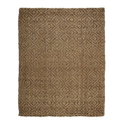 Donny Osmond Home - Donny Osmond Home Perfect Diamond Jute Rug - 8' x 10' - Jute brings a magnificent, chunky texture to any space. These rugs are expertly handloom-woven by skilled weavers who employ a variety of traditional techniques to create these simply beautiful styles. Jute fibers exhibit naturally anti-static, insulating and moisture regulating properties. It is predominantly farmed by approximately four million small farmers in India and Bangladesh and supports hundreds of thousands of workers in jute manufacturing (from raw material to yarn and finished products). Have you made family your #1 priority today? Let's make time, together. Find out more at DonnyOsmond.com