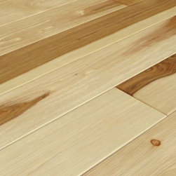"""Teka Parquet - Hickory UV Oiled Natural Hand Scraped Solid Engineered Floor- Sample 8"""" x 5"""" - This is a listing for 2 pc sample (8""""x 5"""")"""