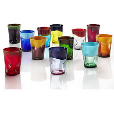 Eclectic Everyday Glassware by tableartonline.com