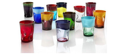 Eclectic Everyday Glasses by tableartonline.com